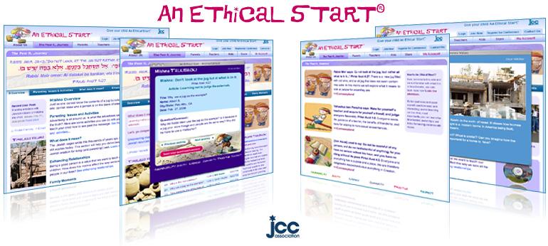 Screenshots of An Ethical Start