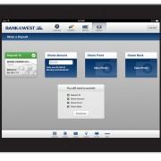 iPad Remote Deposit