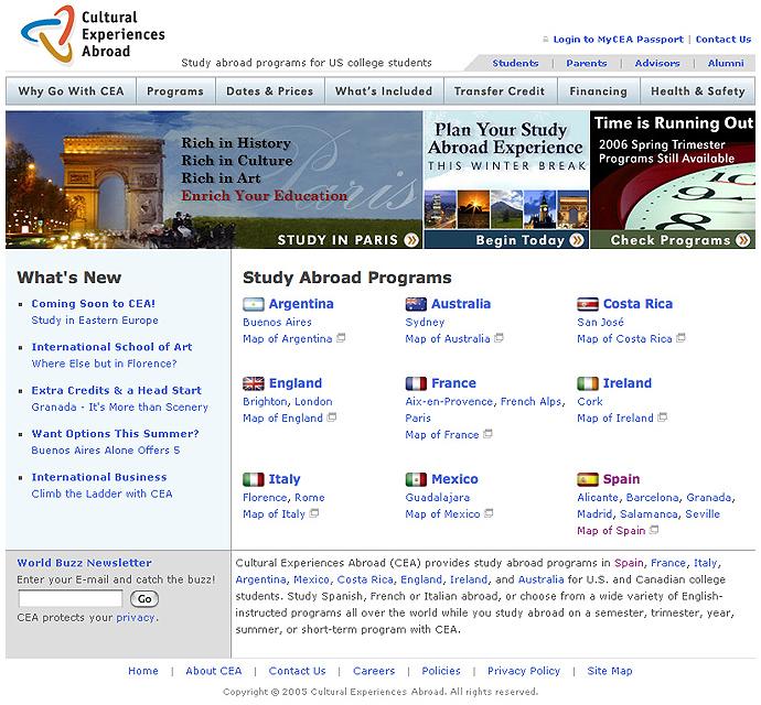 CEA Homepage