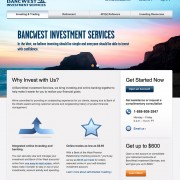 Online Investing Product Pages